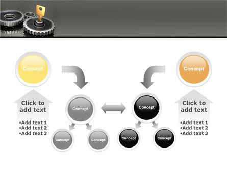 Key To Lock Mechanism PowerPoint Template Slide 19