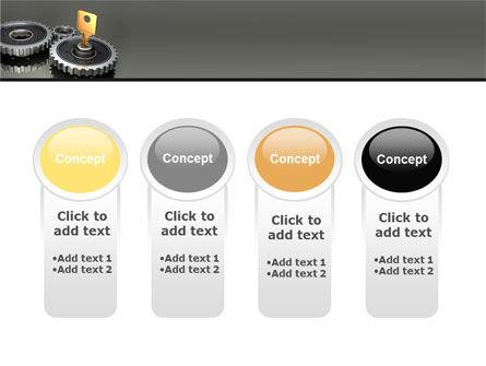 Key To Lock Mechanism PowerPoint Template Slide 5