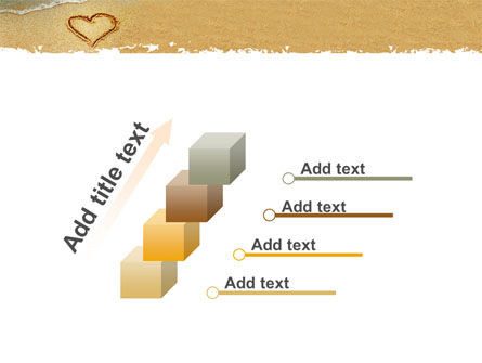 Heart On Sand PowerPoint Template Slide 14