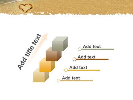Heart On Sand PowerPoint Template Slide 14