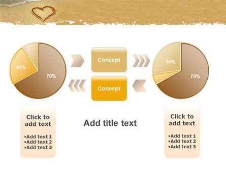 Heart On Sand PowerPoint Template Slide 16