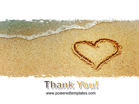Heart On Sand PowerPoint Template Slide 20