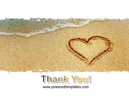 Heart On Sand PowerPoint Template Slide 20