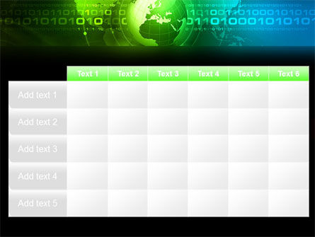 Web Over The Earth PowerPoint Template Slide 15