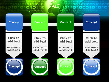 Web Over The Earth PowerPoint Template Slide 18
