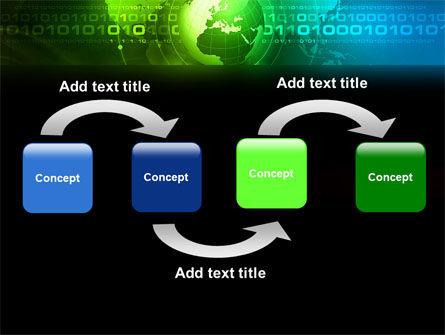 Web Over The Earth PowerPoint Template, Slide 4, 04970, Global — PoweredTemplate.com