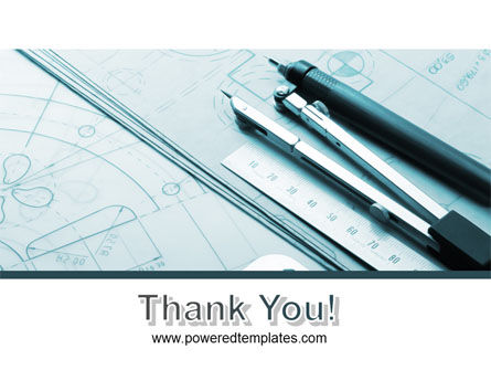 Working Drawings PowerPoint Template Slide 20