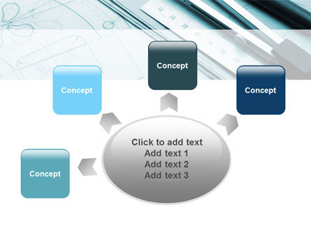 Working Drawings PowerPoint Template Slide 7