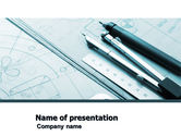 Careers/Industry: Working Drawings PowerPoint Template #04971