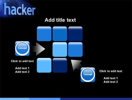 Hacker PowerPoint Template Slide 16