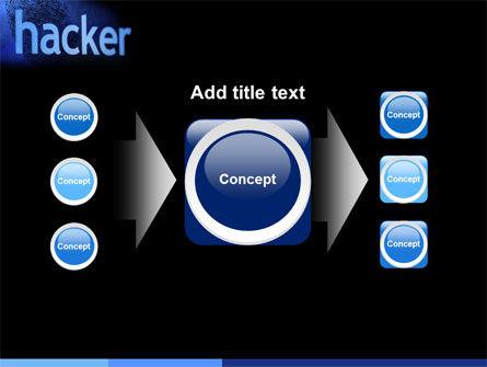 Hacker PowerPoint Template Slide 17