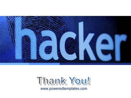 Hacker PowerPoint Template Slide 20