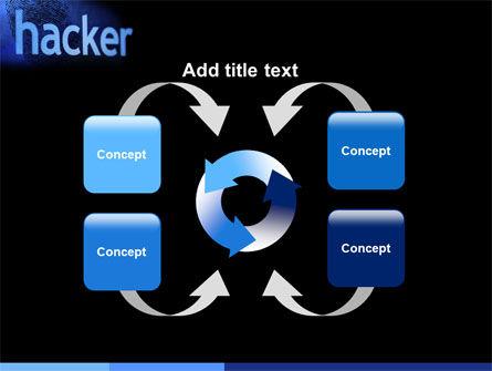 Hacker PowerPoint Template Slide 6