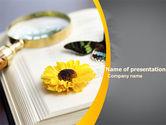 Education & Training: Modelo do PowerPoint - observação de borboletas #04974