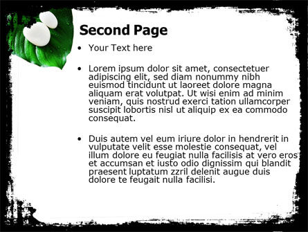 White Stones PowerPoint Template, Slide 2, 04975, Health and Recreation — PoweredTemplate.com
