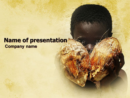 People: Child Labor PowerPoint Template #04978