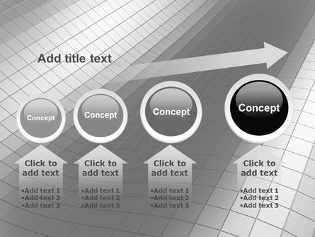 Grayscale PowerPoint Template Slide 13