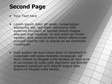 Grayscale PowerPoint Template Slide 2
