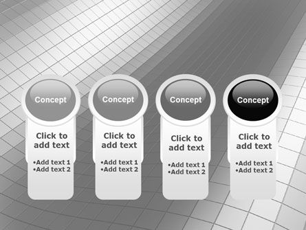 Grayscale PowerPoint Template Slide 5