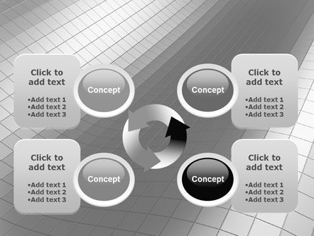 Grayscale PowerPoint Template Slide 9