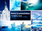 Nature & Environment: Plantilla de PowerPoint - iceberg #04989