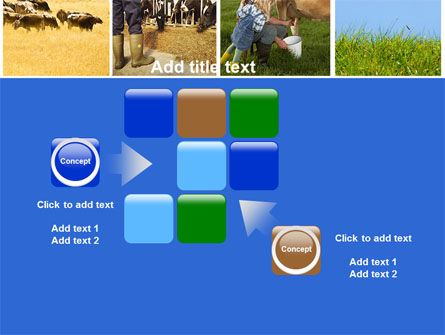 Cow PowerPoint Template Slide 16