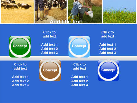 Cow PowerPoint Template Slide 19