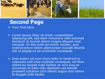 Cow PowerPoint Template Slide 2