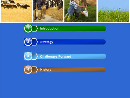 Cow PowerPoint Template Slide 3