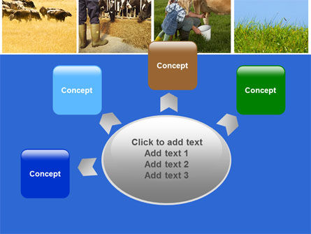 Cow PowerPoint Template Slide 7