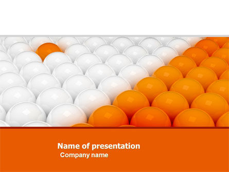 Stand Apart PowerPoint Template, 04993, Business Concepts — PoweredTemplate.com