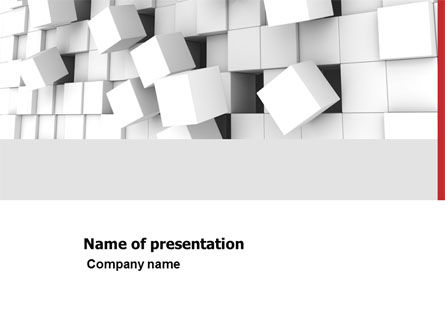 Disintegrated PowerPoint Template