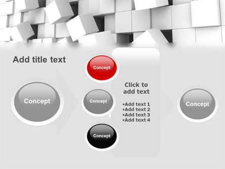 Disintegrated PowerPoint Template Slide 17