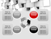 Disintegrated PowerPoint Template#9