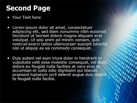 World In Digits PowerPoint Template, Slide 2, 04997, Telecommunication — PoweredTemplate.com