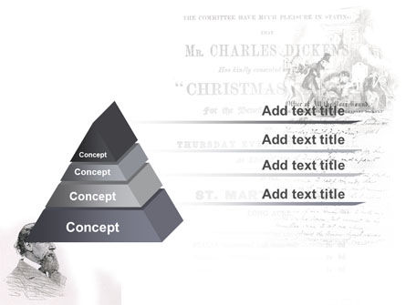 Charles Dickens PowerPoint Template Slide 12