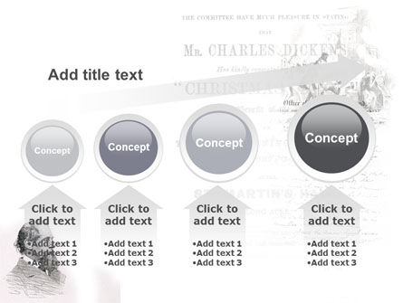 Charles Dickens PowerPoint Template Slide 13