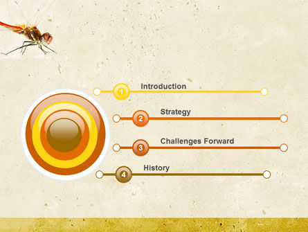 Dragonfly Powerpoint Template Backgrounds
