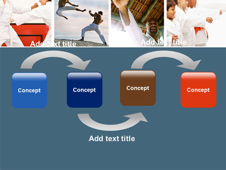 Karate powerpoint template backgrounds 05001 poweredtemplate karate powerpoint template slide 4 05001 sports poweredtemplate toneelgroepblik Gallery