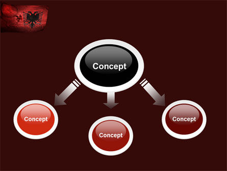 Albania PowerPoint Template, Slide 4, 05002, Flags/International — PoweredTemplate.com