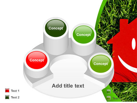 Red Home PowerPoint Template Slide 12