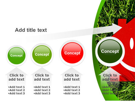 Red Home PowerPoint Template Slide 13