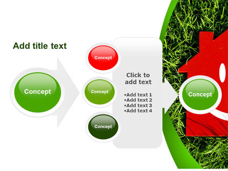 Red Home PowerPoint Template Slide 17