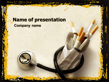 smoke powerpoint template
