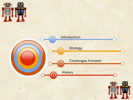 Robots PowerPoint Template, Slide 3, 05005, Technology and Science — PoweredTemplate.com