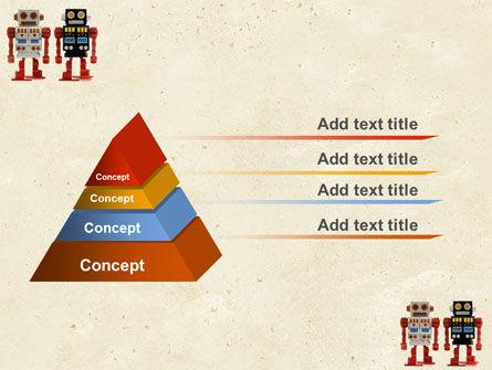 Robots PowerPoint Template, Slide 4, 05005, Technology and Science — PoweredTemplate.com