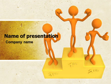 Champion PowerPoint Template, 05006, Consulting — PoweredTemplate.com