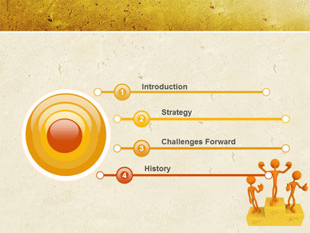 Champion PowerPoint Template, Slide 3, 05006, Consulting — PoweredTemplate.com