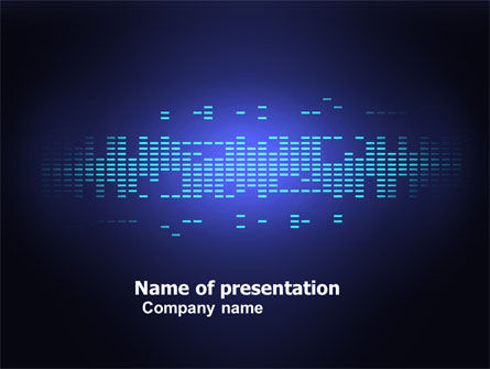 Digital Media PowerPoint Template, 05008, Technology and Science — PoweredTemplate.com