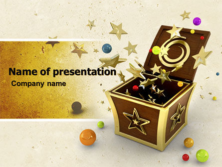 Holiday/Special Occasion: Magic Box PowerPoint Template #05009